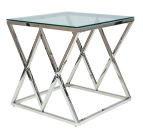 Signal Meble Zegna Coffee Table Silver