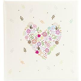Альбом для фотографий Goldbuch Flowers in the Heart, кремовый