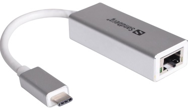 Sandberg Adapter USB to RJ-45 Grey
