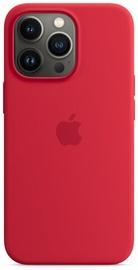 Чехол Apple iPhone 13 Pro Silicone Case with MagSafe, красный