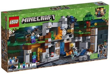 Konstruktorius LEGO Minecraft The Bedrock Adventures 21147