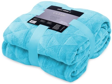 DecoKing Clyde Blanket Turquoise 70x150cm