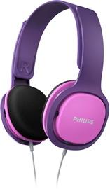 Ausinės Philips SHK2000PK/00 Purple/Pink