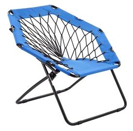 Halmar Widget Folding Garden Chair Blue