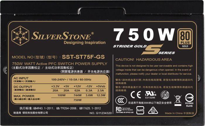 Silverstone SST-ST75F-GS v3.0 750W