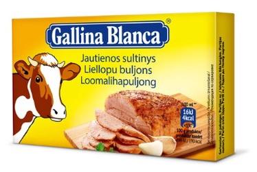 Jautienos sultinys Gallina Blanca 8 vnt., 80 g