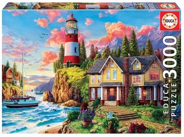 Пазл Educa Borras Lighthouse Near The Ocean 18507, 3000 шт.