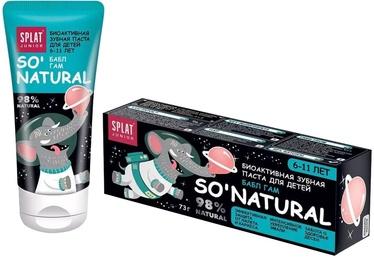 Splat Junior Natural Bubble Gum 6-11 55ml