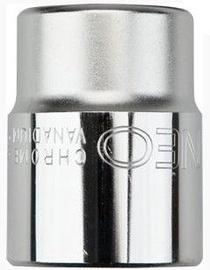 "NEO Hexagonal Socket Cr-V 27mm 1/2"""