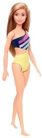 Mattel Barbie Beach Doll Purple & Yellow Swimsuit GHW41