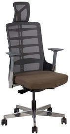 Home4you Office Chair Spinelly Brown/Grey