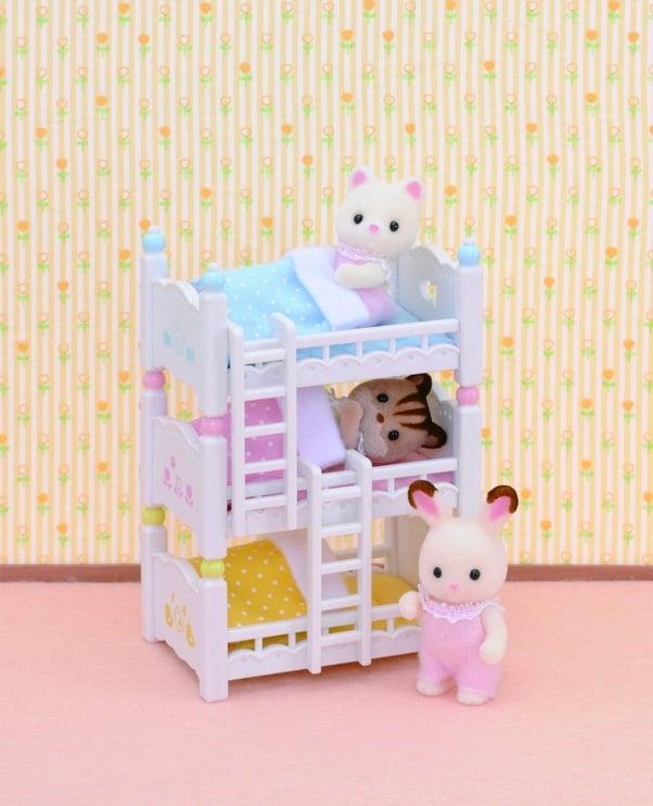 Žaislinė figūrėlė Epoch Sylvanian Families Triple Bunk Beds 2919