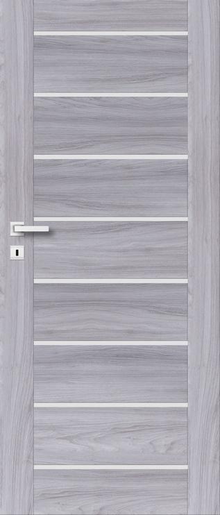 Полотно межкомнатной двери PerfectDoor MIRA 01, серый, 2035 см x 644 см x 4 см