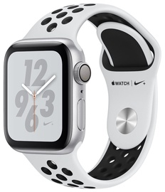 Apple Watch Series 4 44mm NIKE+ Aluminum Pure Platinum/Black Band