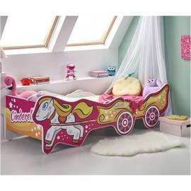 Детская кровать Halmar Cinderella Multicolored, 165x79 см