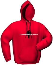 GamersWear Schoolgirls Hoodie Red XXL