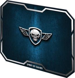 Spirit of Gamer Winger Skull Gaming Mouse Pad Medium Blue