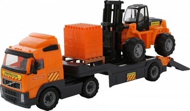 Wader Volvo Trailer Truck With Fork Lift 58409