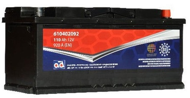 AD Baltic 610402092 Starter Battery 110Ah
