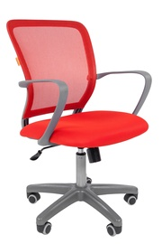 Chairman 698 Office Chair TW Red/Grey