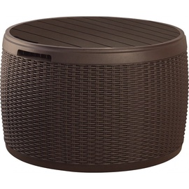 Keter Circa Rattan Storage Box 140l Brown