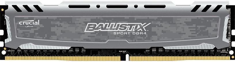 Crucial Ballistix Sport LT Gray 8GB 2666MHz CL16 DDR4 BLS8G4D26BFSBK
