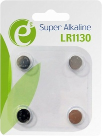 Energenie Button Cell LR1130 1.5V 4-Pack EG-BA-LR1130-01