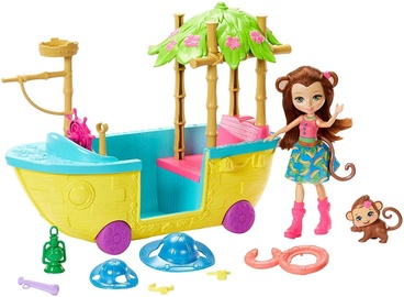 Lelle Mattel Enchantimals Junglewood Boat GFN58