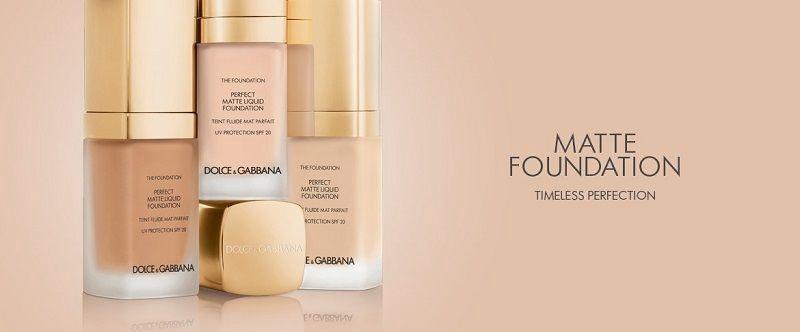 Dolce & Gabbana Matte Liquid Foundation SPF20 30ml 80