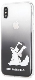 Karl Lagerfeld Choupette Fun Back Case For Apple iPhone X/XS Black
