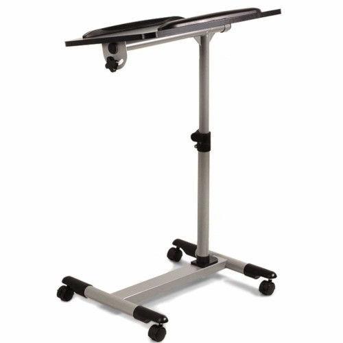 Maclean MC-671 Universal Portable Laptop Projector Desk Trolley
