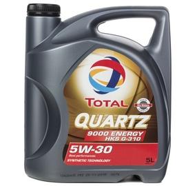 Mootoriõli Total Quartz 9000 Energy HKS 5W - 30, sünteetiline, sõiduautole, 5 l