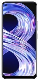 Mobiiltelefon Realme 8, must, 6GB/64GB