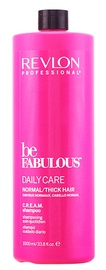 Revlon Be Fabulous Daily Care Normal Cream Shampoo 1000ml