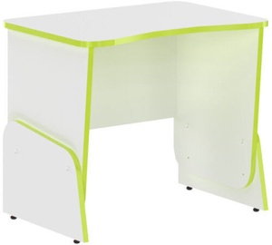 Skyland STG 7050 Gaming Table White/Lime