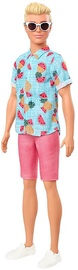 Mattel Barbie Fashionistas Doll Ken In Shirt With Fruit Print GYB04