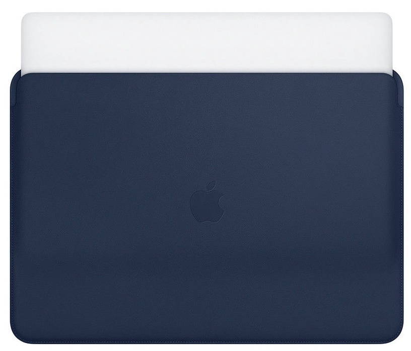 """Apple Leather Sleeve For 15"""" MacBook Pro Midnight Blue"""