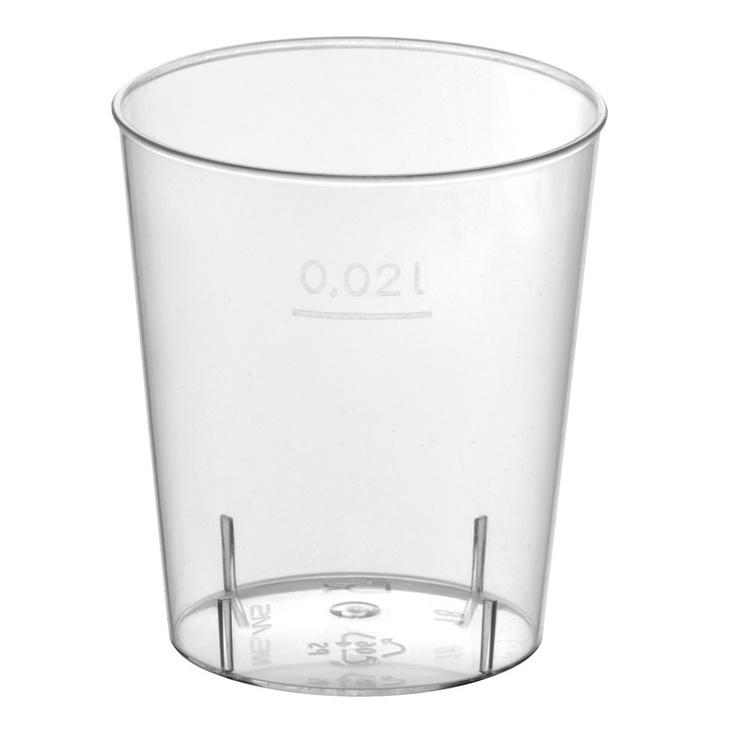 Vienkartiniai stikliukai Papstar, 20 ml, 40 vnt