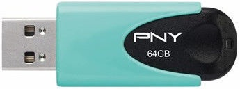 PNY Attaché 4 Pastel Aqua USB 2.0 64GB