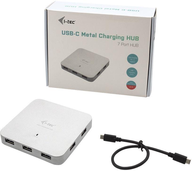 i-Tec C31HUBMETAL7 Metal Charging HUB
