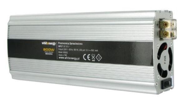 Whitenergy Power Inverter 12V 800W