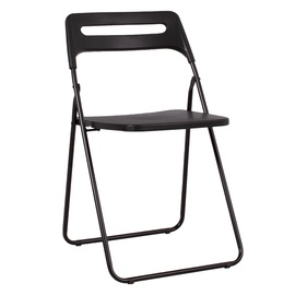 Home4you Piknik Folding Chair Black