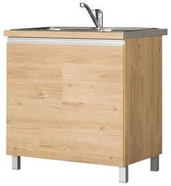 Bodzio Monia Lower Cabinet For Sink 80 Brown