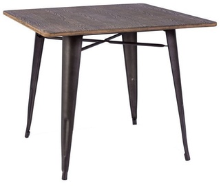 Signal Meble Dining Table Almir Walnut/Graphite