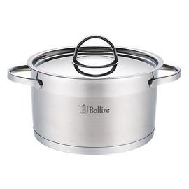 Bollire BR-2304 Casserole With Lid 24cm 5.5l Silver