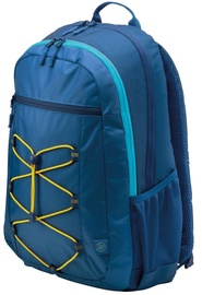 """HP Notebook Backpack For 15.6"""" Blue/Yellow"""