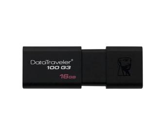 USB atmintinė Kingston DataTraveler 100 G3 USB 3.0, 16 GB