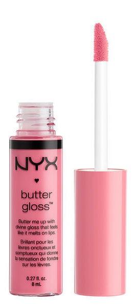 Lūpų blizgis NYX Butter Gloss 09, 8 ml
