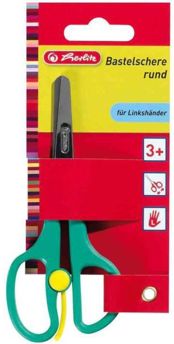 Herlitz Left Handed Craft Scissors Assortment 08740045