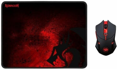 Redragon Wireless Gaming Mouse + Gaming Mouse Pad Large M601WL-BA